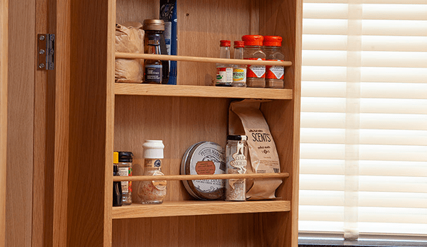 Oak Spice Racks