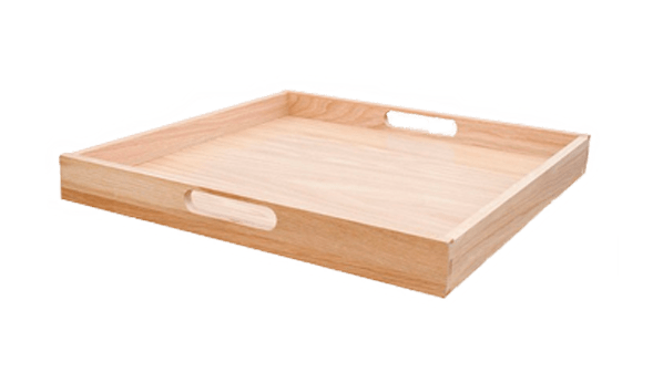 Bespoke Handled Wooden Tray
