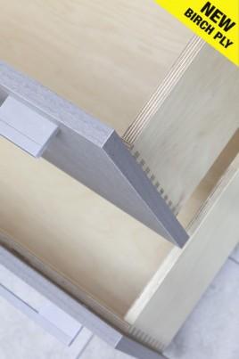 Birch Ply Bespoke Dovetail Drawers