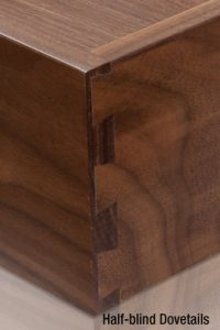 FSC Walnut Dovetail Drawers